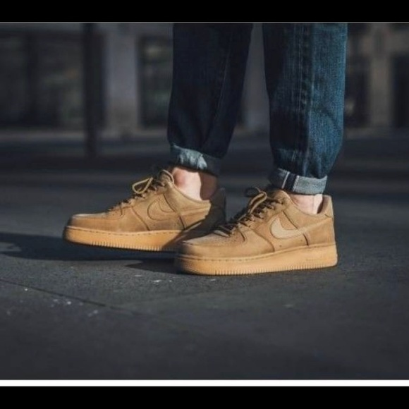 nike air force 1 tan mens